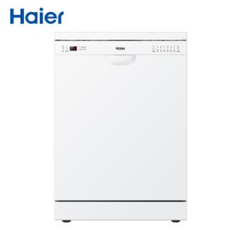 海尔(Haier)家用高温洗碗机HW14-S8立嵌两用自动洗碗器14套及以上 6大洗涤程序 余温烘干