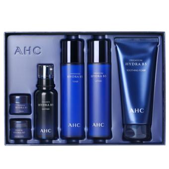 AHC 神仙水乳套装 面部护肤套装礼盒 保湿补水 调节水油平衡 B5玻尿酸6件套盒