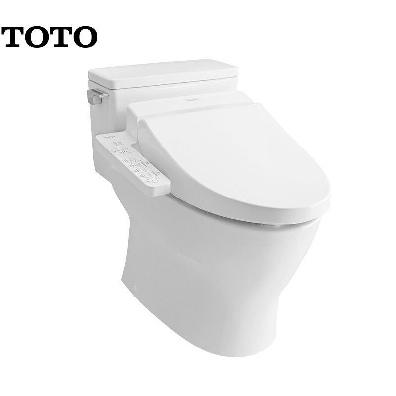 【305MM预售18天】TOTO卫浴 智能马桶超漩式马桶全包底座家用智洁连体电子坐便器CES6631A