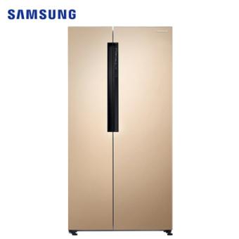 三星RS62MAJ00FE/SC 638L升风冷无霜智能变频静音节能省电双开门大容量家用电冰箱对开门冰箱金色