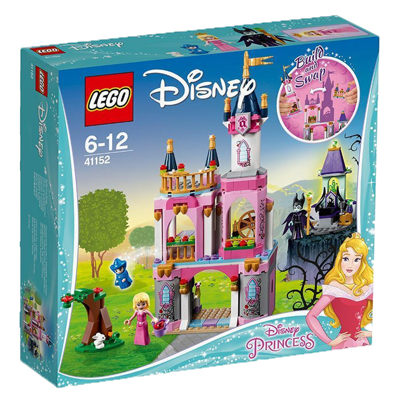 LEGO 乐高 Disney Princess 迪斯尼公主系列 41152 睡美人的童话城堡