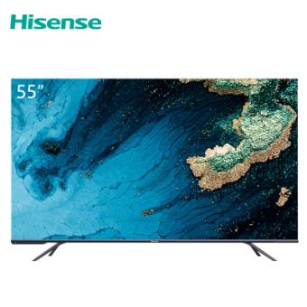 海信(Hisense)HZ55E7D 55英寸 超高色域 3GB+32GB  AI声控 杜比全景声 超薄全面屏平板电视机