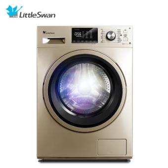 小天鹅(Little Swan)TG100V80WDG5 10公斤全自动变频滚筒洗脱一体洗衣机 智能健康洗护 家用金色