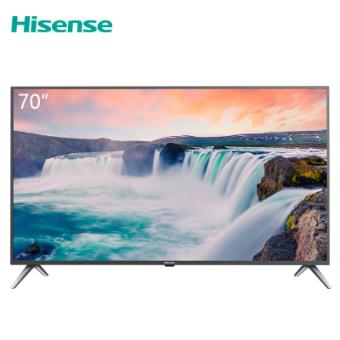 海信(Hisense)HZ70E3D 70英寸 4K超高清 HDR 全金属机身 全场景智慧语音 人工智能平板电视机