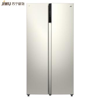 万博官网app体育ios版极物小Biu冰箱 JSE4628LP 468升对开门冰箱 变频一级能效 风冷无霜 家用电冰箱