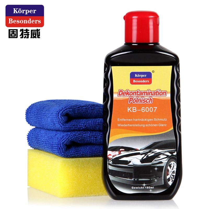 固特威(Glodway)汽车保护蜡抛光保养镀膜棕蜡新车蜡打蜡 去污上光蜡