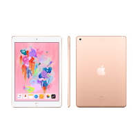 Apple iPad 第六代 2018年新款9.7英寸128G Wifi版 金色 MRJP2CH/A