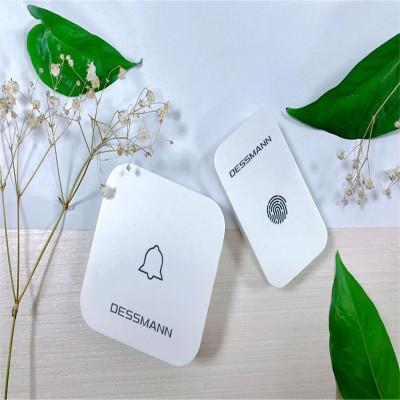 德施曼(DESSMANN)无线门铃ML20白色干电池低功耗远距离信号强稳定