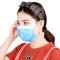 绿之源 绿呼吸一次性防护口罩三层50只装 舒适透气防尘防飞沫花粉防雾霾男女通用熔喷布口罩