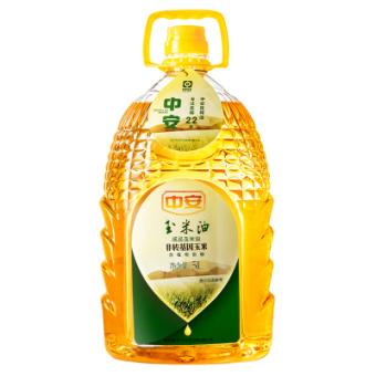 中安 食用油非转基因 甾醇 玉米油 5L