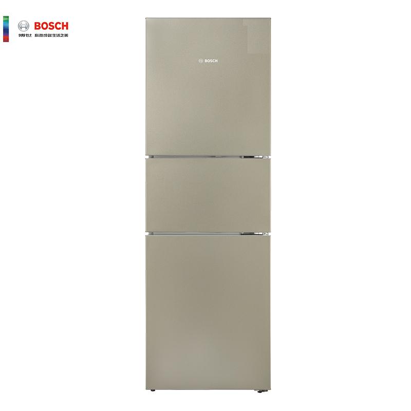 BOSCH 博世 KGU28A2Q0C 274升 家用三门冰箱(流沙金)