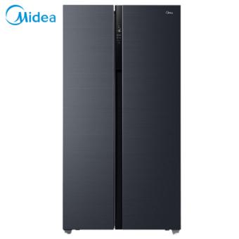 美的(Midea)BCD-630WKPZM(E) 对开门家用 19分钟急速净味 一级能效 智能操控大容量双开门电冰箱