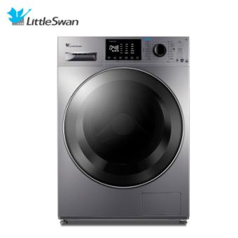 小天鹅(LittleSwan)TD100V86WMADY5 智能10公斤大容量全自动滚筒 干衣机 洗干一体洗衣机 巴赫银