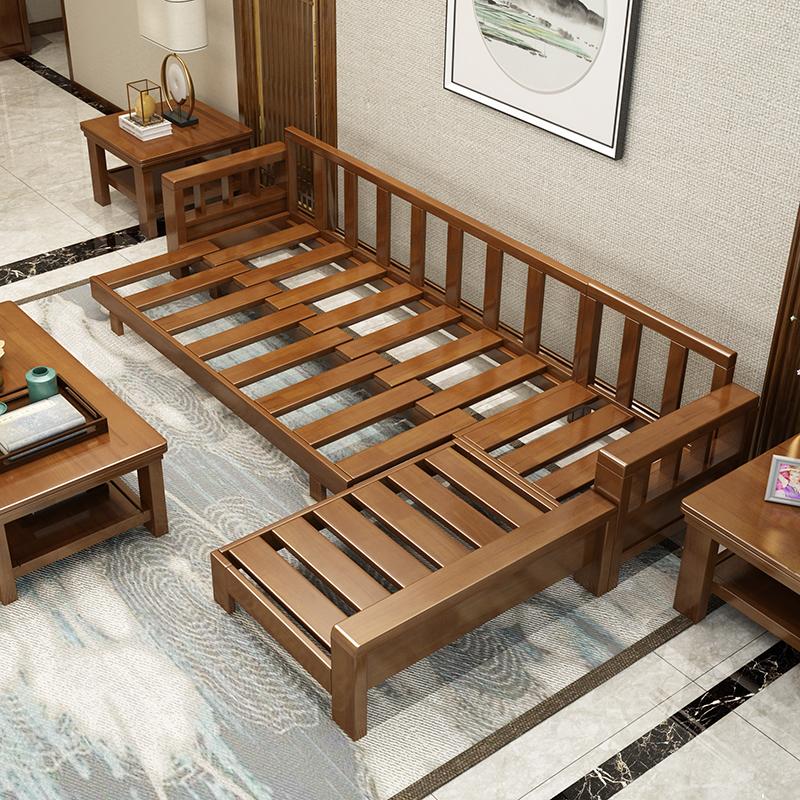 唐臻新中式沙发家具实木组合禅意民宿轻奢样板房现代中式间中国风定制