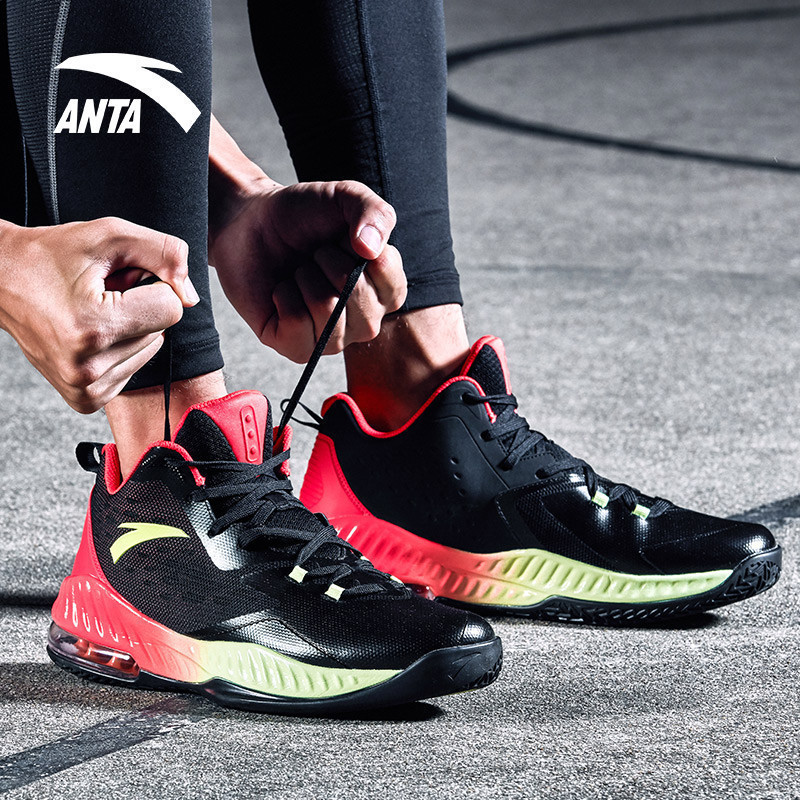 ANTA 安踏 91731116 男款高帮篮球鞋