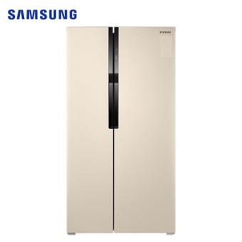 三星RS55KBHI0SK/SC 565L升风冷无霜智能变频静音节能省电双开门大容量家用电冰箱对开门冰箱金色