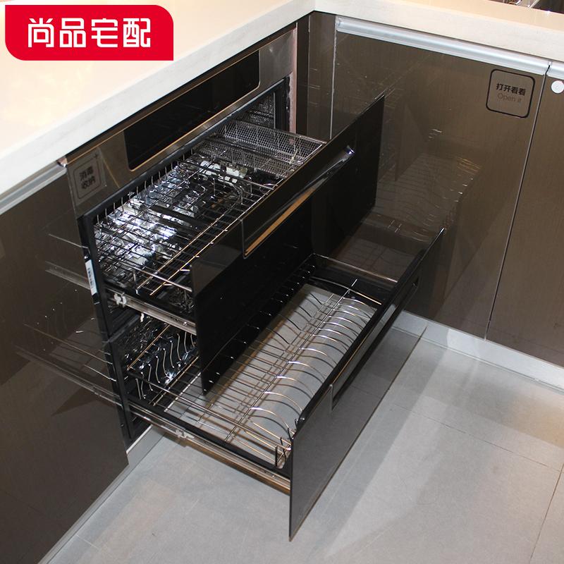 尚品宅配 整体橱柜定制 欧式智能厨柜 石英石台面厨房定制橱柜 【预付金】非商品价格