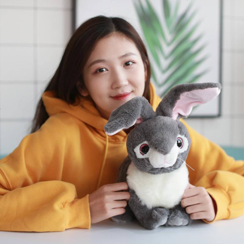 精选】礼物毛绒玩具小号可爱身高公仔卡通女生是兔子多少正常13的女生岁图片