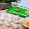 三全 速冻素水饺韭菜鸡蛋口味 450g(30只左右)蔬菜饺子清淡早晚餐皮薄馅大方便食品