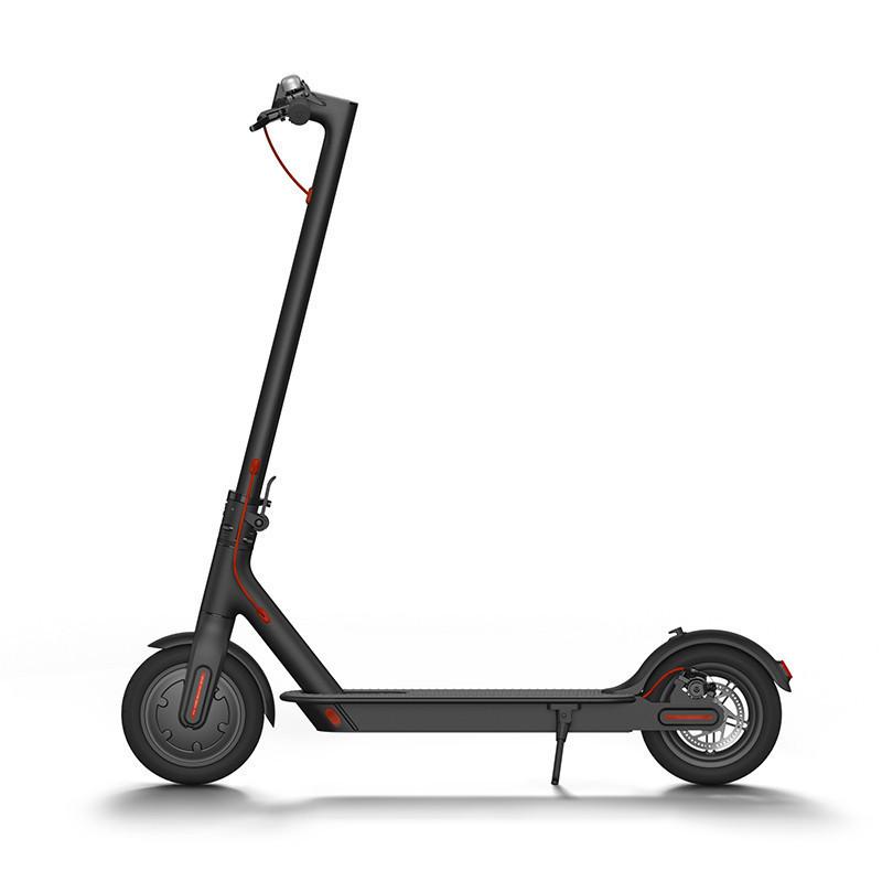 小米(MI)滑板车米家电动滑板自行车成人可折叠男女代驾通用两轮电动平衡车踏板车代步车 小米米家电动滑板车电动车 黑色