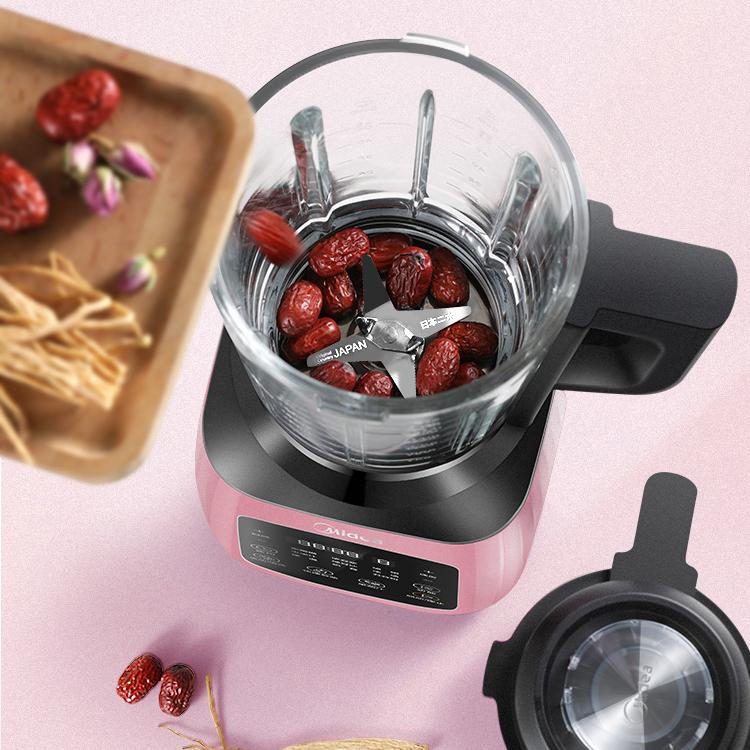 美的破壁料理机评测:冷热两用解锁更多美食