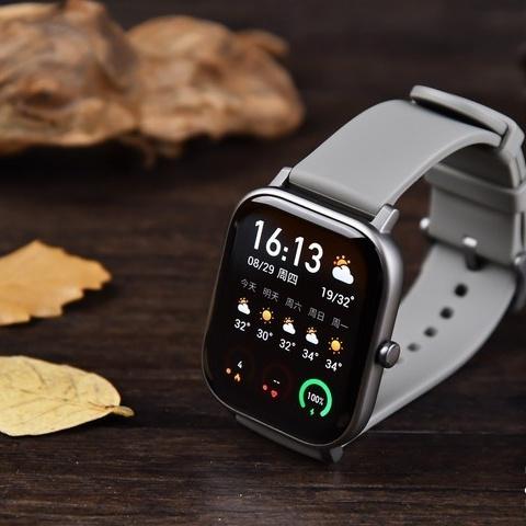 漂亮又实用,华米GTS钛 金属手表