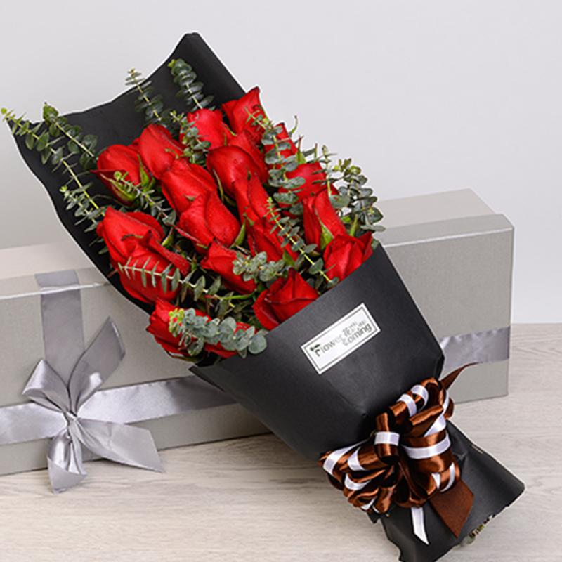 【此生唯一】13枝紅玫瑰禮盒