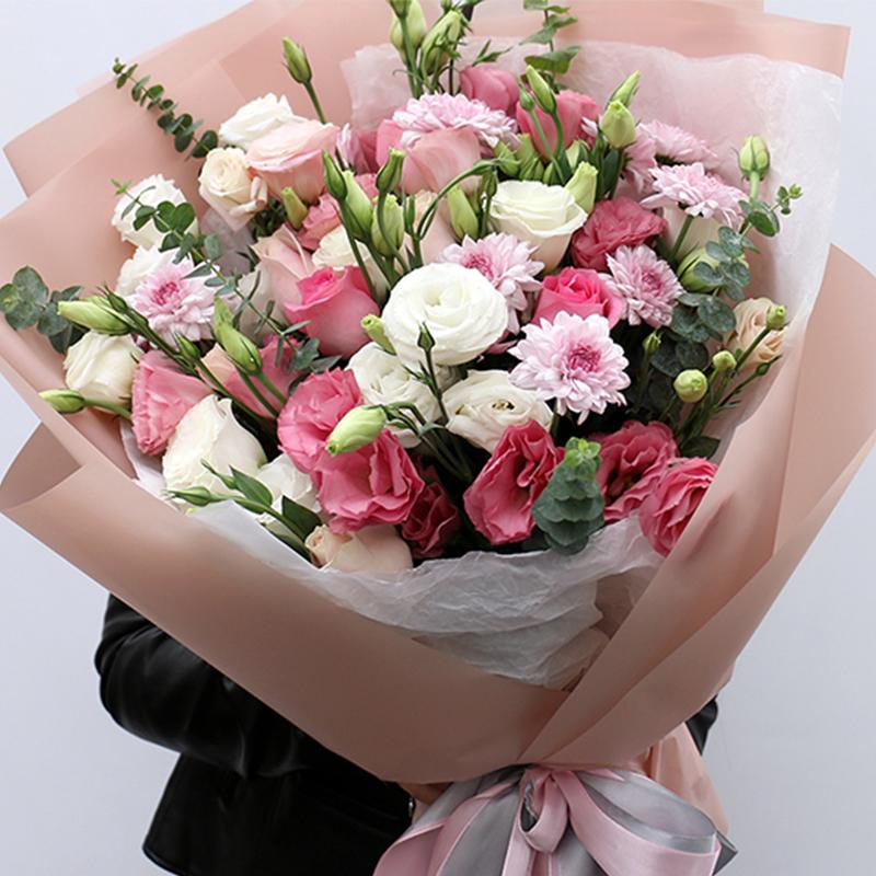 【暗恋】混搭精美玫瑰花束