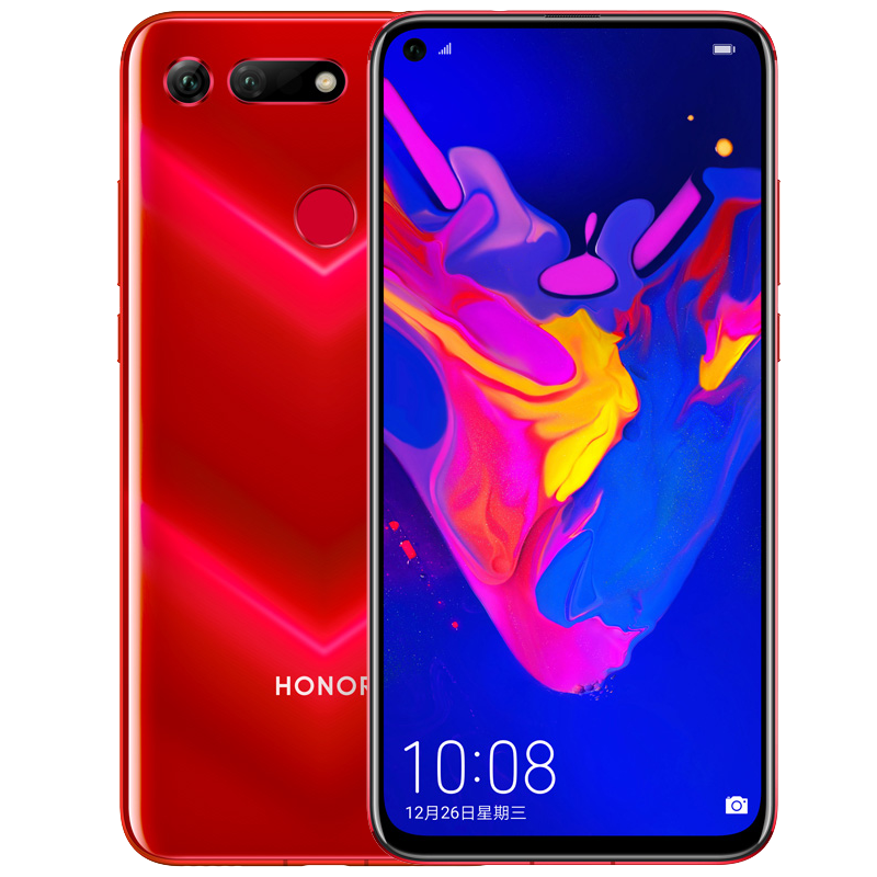 HONOR 荣耀 V20 智能手机 魅丽红 6GB 128GB