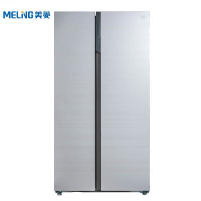美菱(MELING) BCD-552WQ3D 552升M鲜生 对开门冰箱 薄壁技术 养鲜果蔬盒 底部散热(米雅金)
