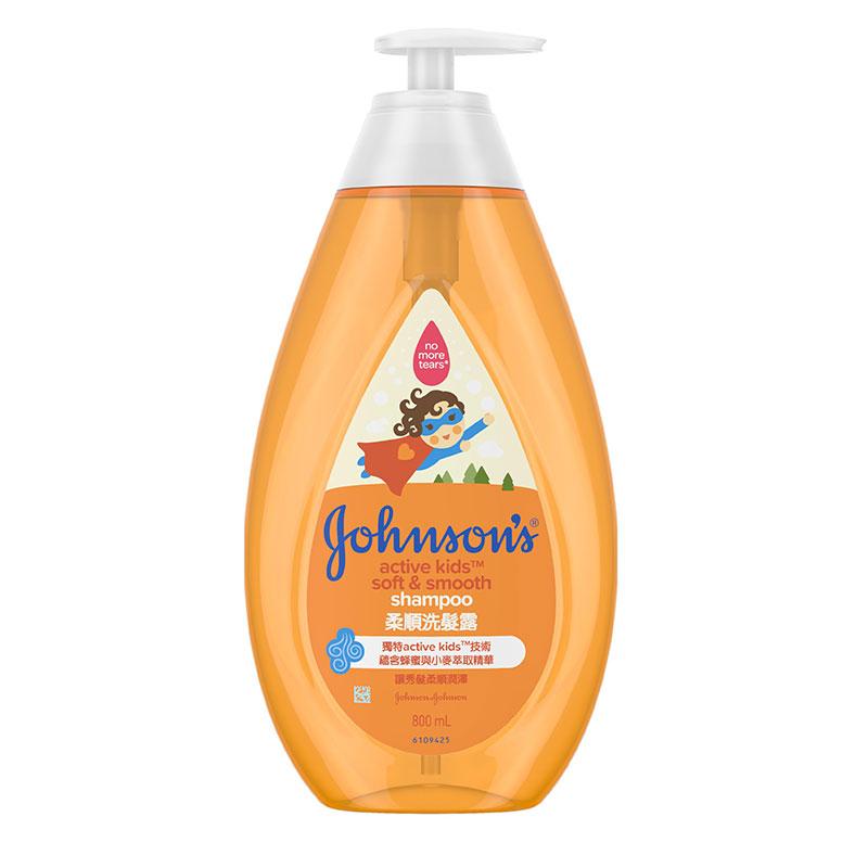 強生(Johnson's)嬰兒柔亮洗頭水800ml
