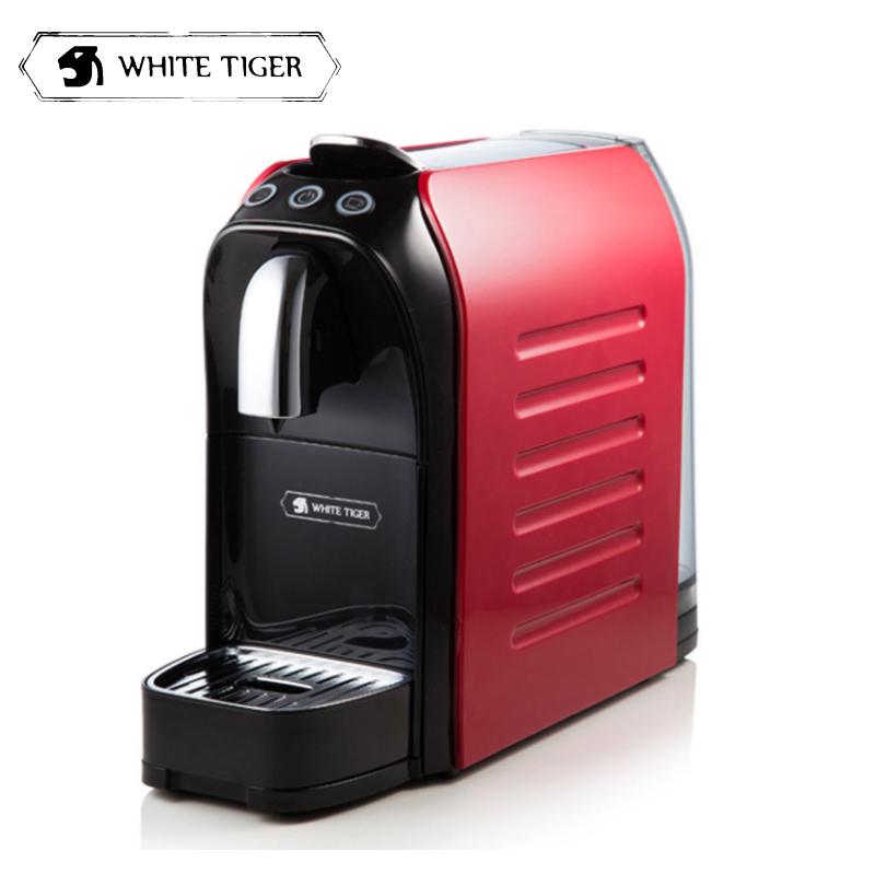 伟嘉咖啡机_WHITE TIGER咖啡机WT903C 威泰戈(WHITE TIGER)胶囊咖啡机 商务家用 ...