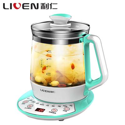利仁(Liven)LR-D1803 养生壶多功能家用智能保温加厚玻璃电热水壶办公室煮茶壶烧水壶苏宁自营