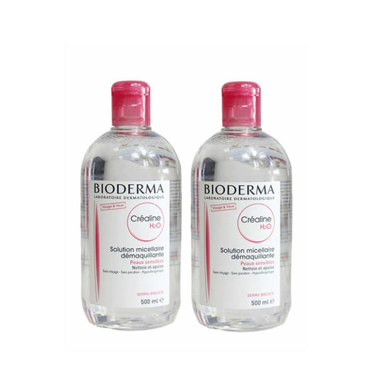 2瓶装|Bioderma 贝德玛温和不刺激卸妆水 500ml法国版