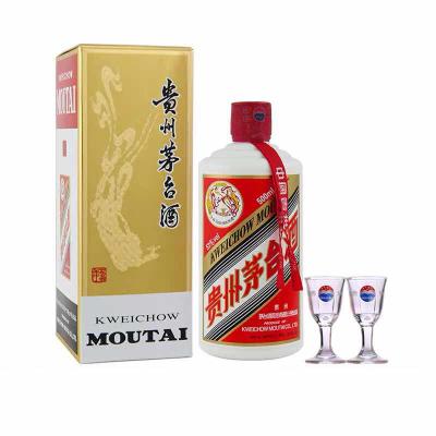 super会员:1499元包邮 贵州茅台酒(带杯) 酱香型白酒  飞天53%vol 500ml
