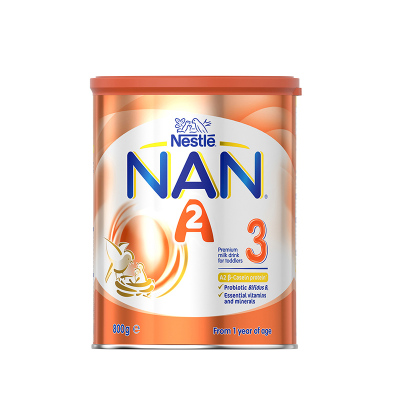 雀巢能恩NAN 超级A2蛋白婴幼儿奶粉3段800g 1-3岁宝宝