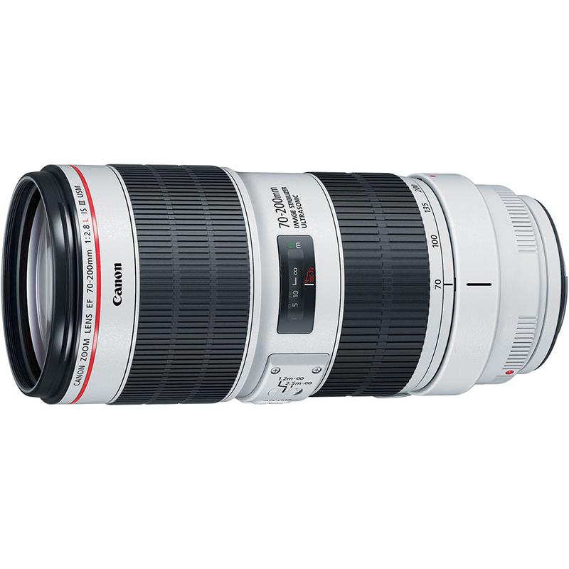 佳能(Canon) EF 70-200f/2.8L IS II USM 大三元 镜头 77mm滤镜 佳能卡口 远摄变焦
