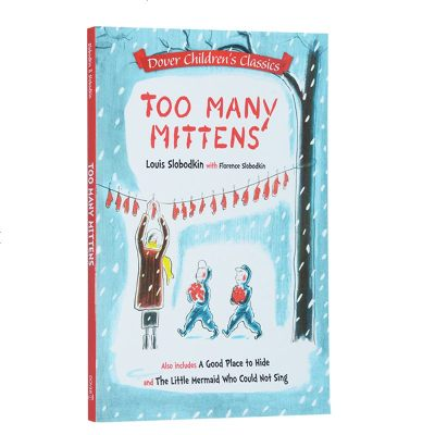 英文原版 Too Many Mittens等 3合一 Dover Children's Classics系列