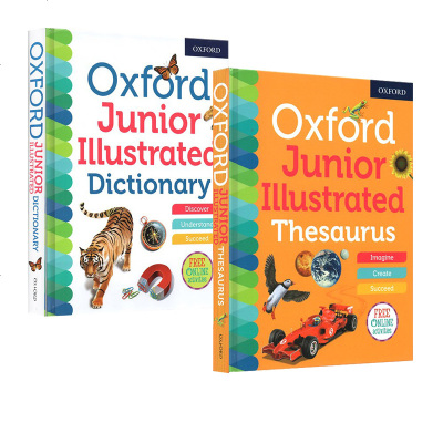 英英字典 Oxford Junior Illustrated Thesaurus /Dictionary 牛津儿童图