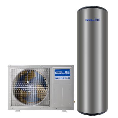 果田(guotian)200L升空气能热水器家用空气源热泵节能恒温无电辅60℃高温