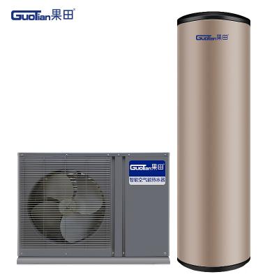 果田 变频直流一级能效 空气能热水器家用 低温-15℃ 南北通用 空气源热泵热水器 160升