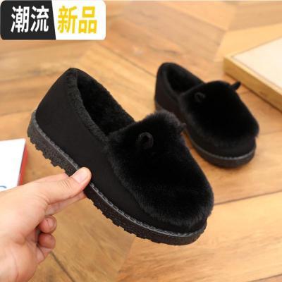 冬季老北京女士棉鞋 加绒加厚底名族风休闲保暖女棉鞋妈妈鞋 广赫