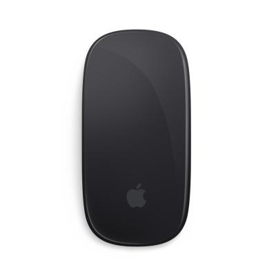 Apple苹果笔记本电脑蓝牙鼠标 Magic Mouse2 激光鼠标 原装无线妙控板二代 原装鼠标 第2代 黑【充电款】