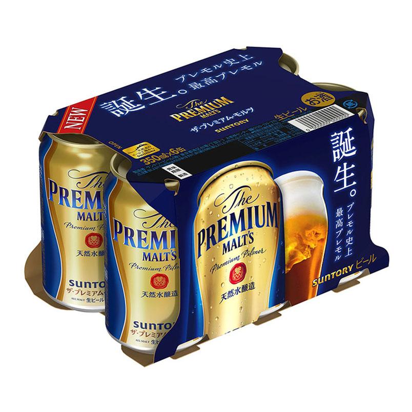 日本三得利Suntory啤酒(金裝) - 350毫升 x 6罐裝
