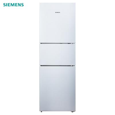 西门子冰箱KG28UA290C 零度保鲜 混冷无霜 三门家用冰箱(欧若拉银)
