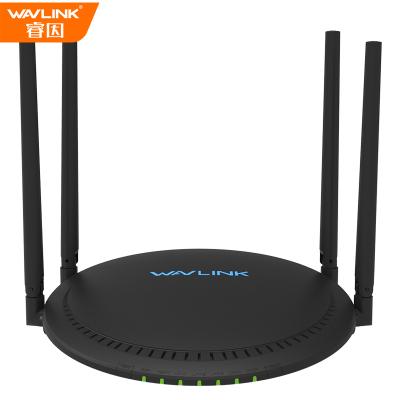 睿因(Wavlink)A33 1200M 千兆双频无线路由器 5Gwifi稳定穿墙 家用智能游戏路由