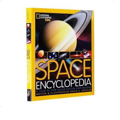 英文原版 National Geographic Space Encyclopedia 精装 太空星球儿童版 美国国