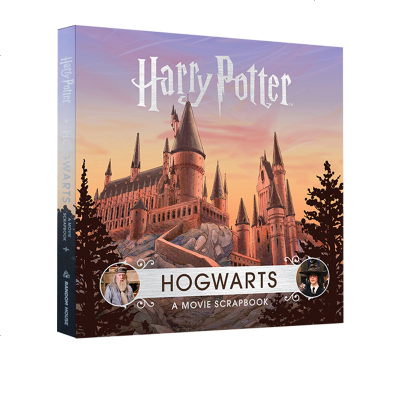 英文原版 HarryPotter: Hogwarts: A Movie Scrapbook 哈利波特:霍格沃茨电影剪
