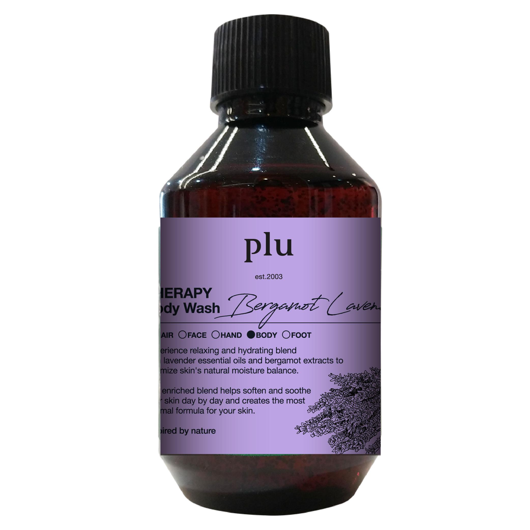 Plu-韓國佛手柑薰衣草沐浴露-500g
