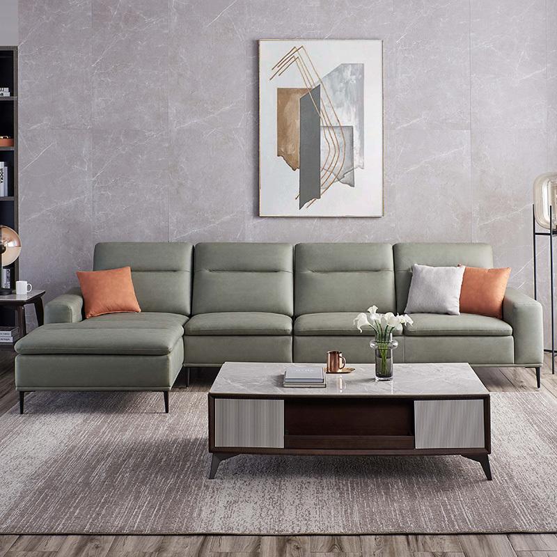 芝華仕(CHEERS)芝华仕都市简约现代真皮沙发客厅大户型科技布多功能家具新款3007新